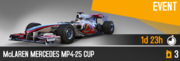 MP4-25 Cup