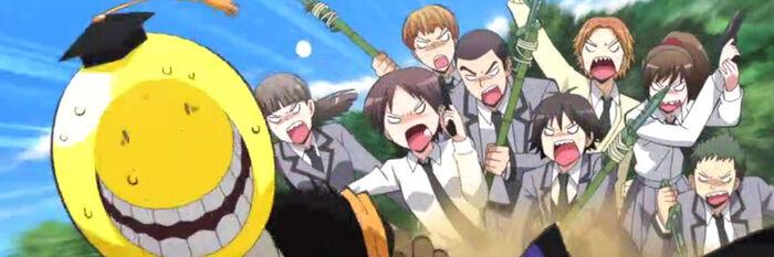Assassination Classroom Gruppe Charaktere