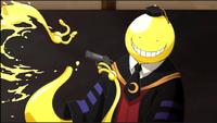 Koro-sensei zeigt Verletzbarkeit