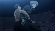 Karasuma huging God of death