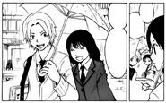 Maehara with Kaho