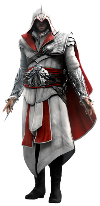 Ezio Auditore Da Firenze Biography Assassin S Creed History