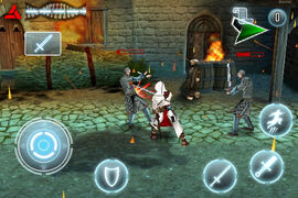 Altair Chronicle battle screenshot