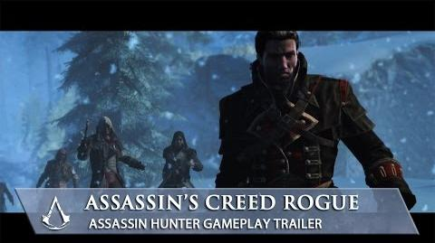 Assassin's Creed Rogue Assassin Hunter Gameplay Trailer