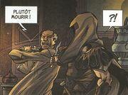 アンクを狙いアクイラスを襲うバルチャー