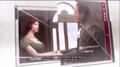 Assassin's Creed 2 - Targets- Опис Марко Барбаріго і Данте Моро в базі даних Анімуса.