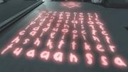 正方形に並んだ文字列