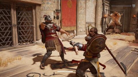 Assassin's Creed Origins Битва на гладіаторській арені в Крокодилополісі