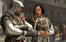 Ezio and Lorenzo
