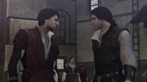 Assassin - Federico Auditore - Speaking to his brother