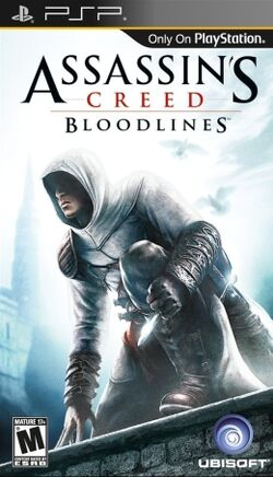 Assassins creed bloodlines psp cover