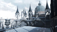 Basilica di San Marco rooftop