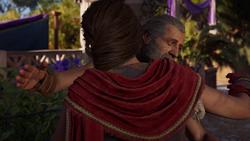 ACOD Barnabas Abroad - Barnabas and Kassandra hug