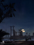 ACO Temple Ruins Concept Art 2 - Martin Deschambault