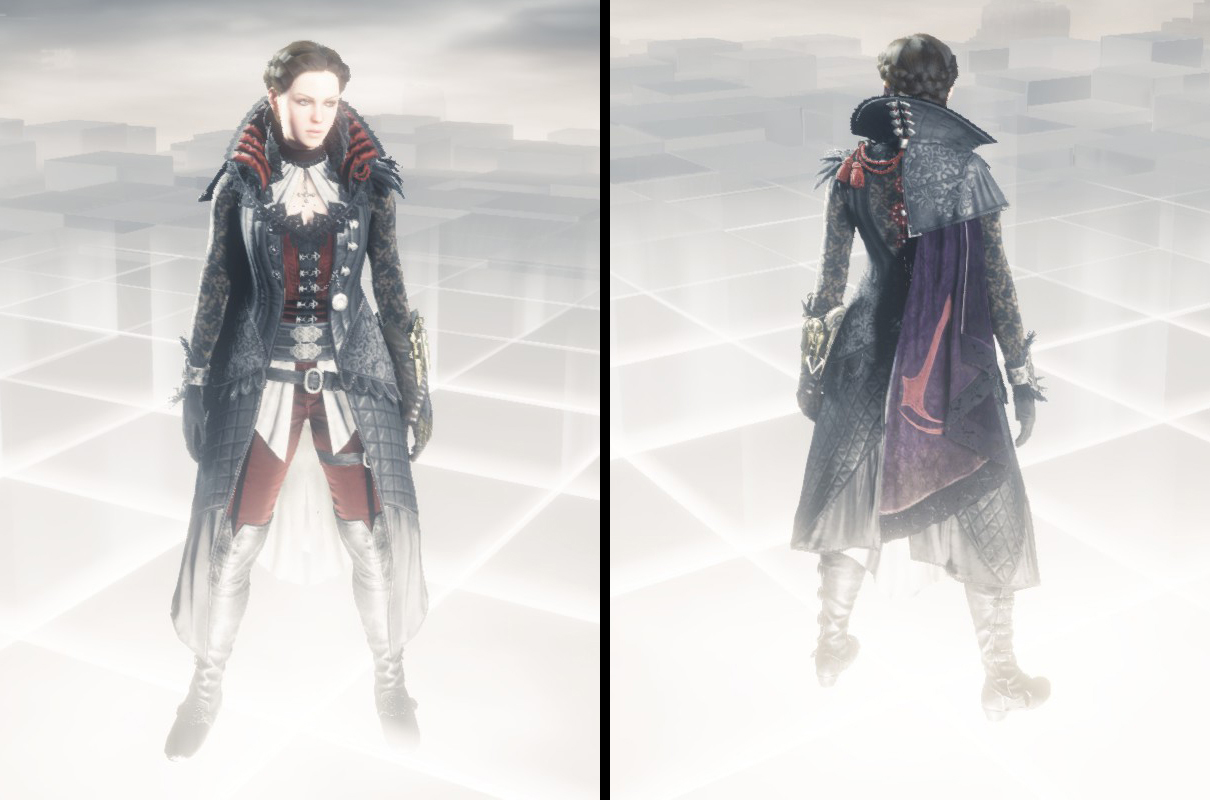 Assassins Creed Syndicate Bloofer Lady Outfit Concept Art