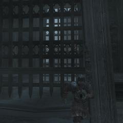 De poorten worden gesloten zodat Ezio niet kan ontsnappen