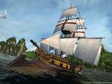 双桅横帆船