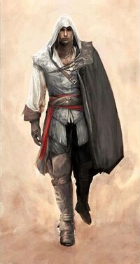 Assassin Ezio - Finalized ACII Concept Art