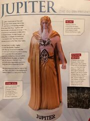 Creepy Jupiter figure from magazine