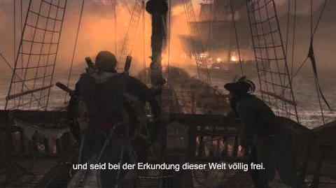 E3 offizielle kommentierte Gameplay Demo - Assassin's Creed 4 Black Flag DE