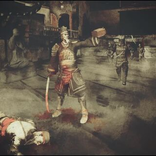 Zhang Yong et le <b>coffret</b> d'Ezio