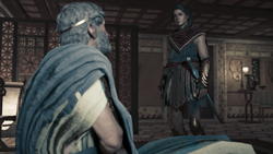 ACOD Abandoned By the Gods - Kassandra Finding Perikles