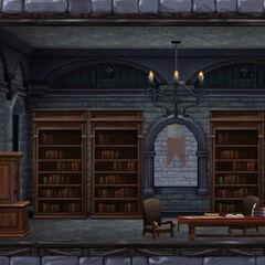 城堡内国王管家的寝室,由Animus 4.38模拟而成