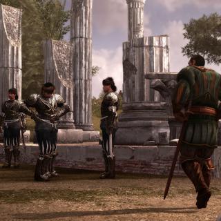Bartolomeo's huurlingen doen de pantsers aan.