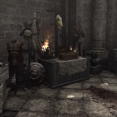 罗穆卢斯的一处神龛
