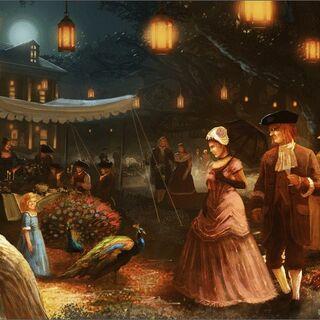 <i>Initiates</i> 中的总督府宴会图