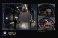 ACIV Abstergo Entertainment Service Corridor concept
