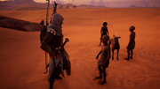 ACO What's Yours Is Mine - Bayek and Anta with the children