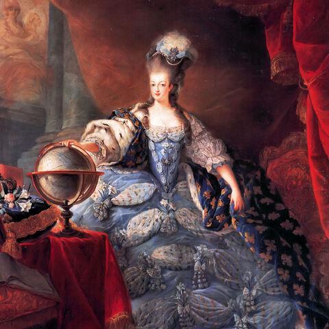 玛丽·安托瓦内特油画