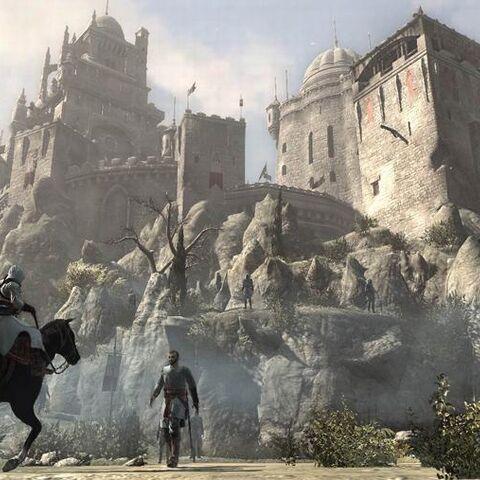 La forteresse de Masyaf