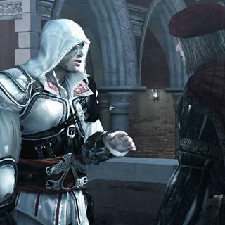 莱昂纳多告诉了埃齐奥关于克里斯蒂娜的事