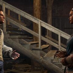 热拉尔德将西拔牙军队的消息告诉艾芙琳