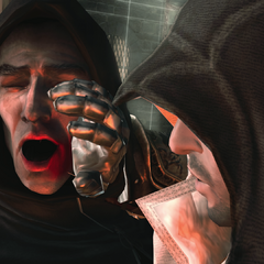 Ezio assassinant Savonarola