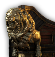 ACOD Lion Figurehead