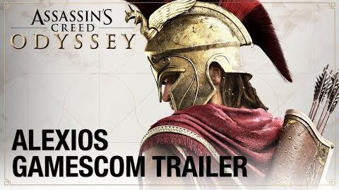 Assassin's Creed Odyssey Gamescom 2018 - Alexios Cinematic Trailer Ubisoft NA