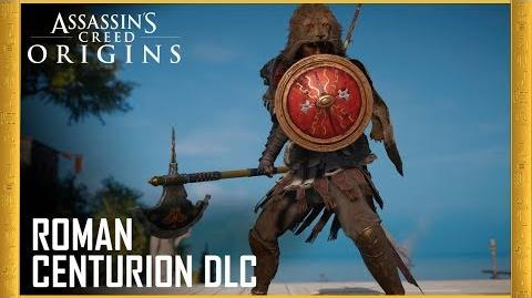 Assassin's Creed Origins Roman Centurion Pack DLC Trailer Ubisoft US