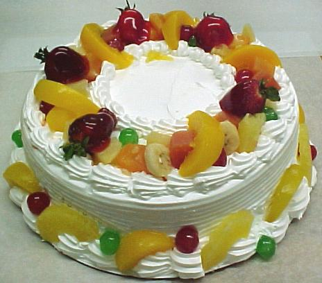 What Size Fruit Cake To Feed