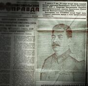 Stalin newspaper