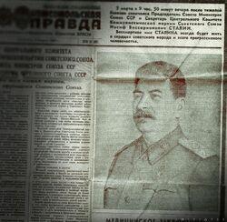 Stalin newspaper
