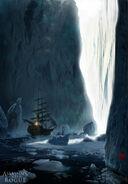 ACRogue nave ghiacci concept art 2