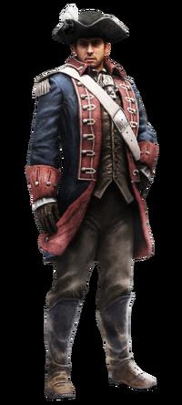 Soldato Esercito Continentale render