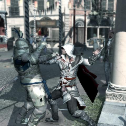 Ezio assassinant le condottiero