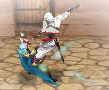 Altaïr uccide Tamir