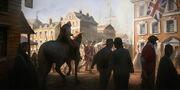 Colonial New York by Gilles Beloeil