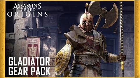 Assassin's Creed Origins Gladiator Gear Pack Trailer Ubisoft US