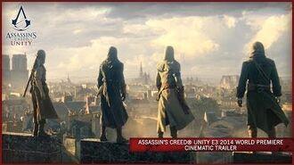 Assassin's Creed Unity E3 2014 World Premiere Cinematic Trailer -EUROPE-